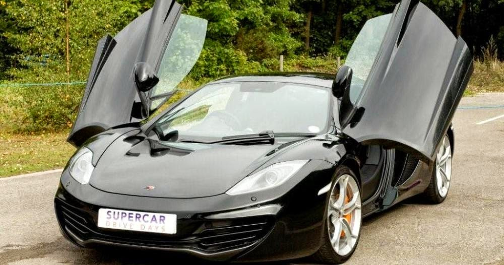 UK McLaren Supercar Pass Training