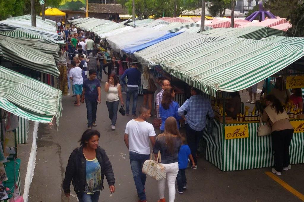 Grande público visita a Feirinha no final de semana