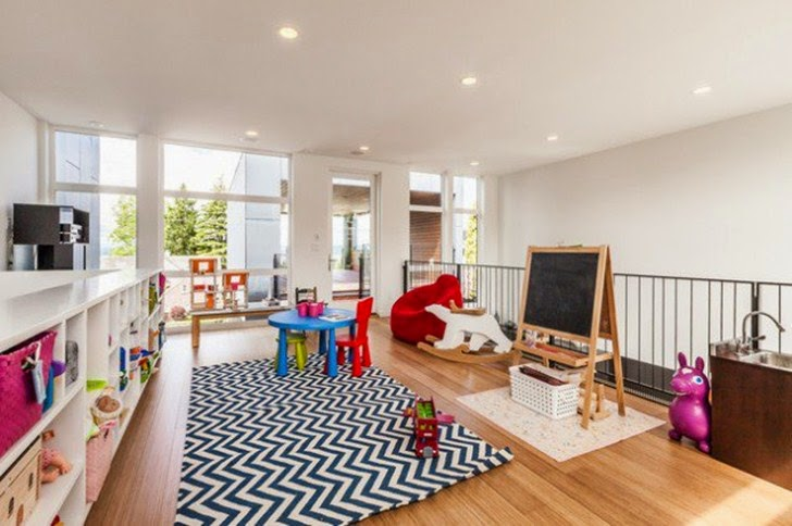 Contoh Desain Ruang Bermain Anak Penuh Warna
