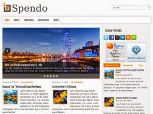 Spendo - Free Wordpress Theme
