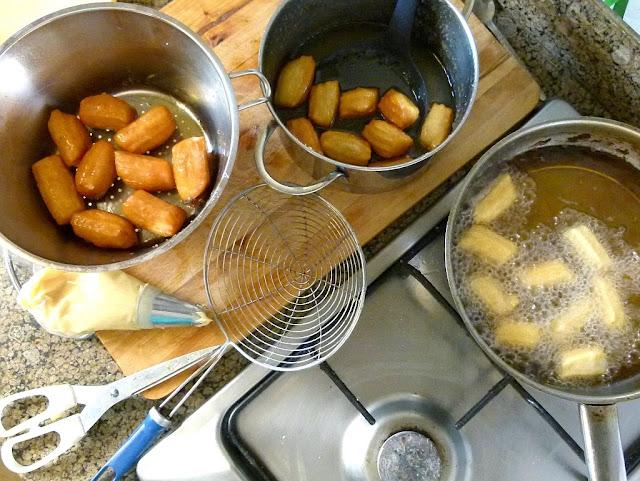 Ägyptische Rezepte - Balah El Sham - Zubereitung