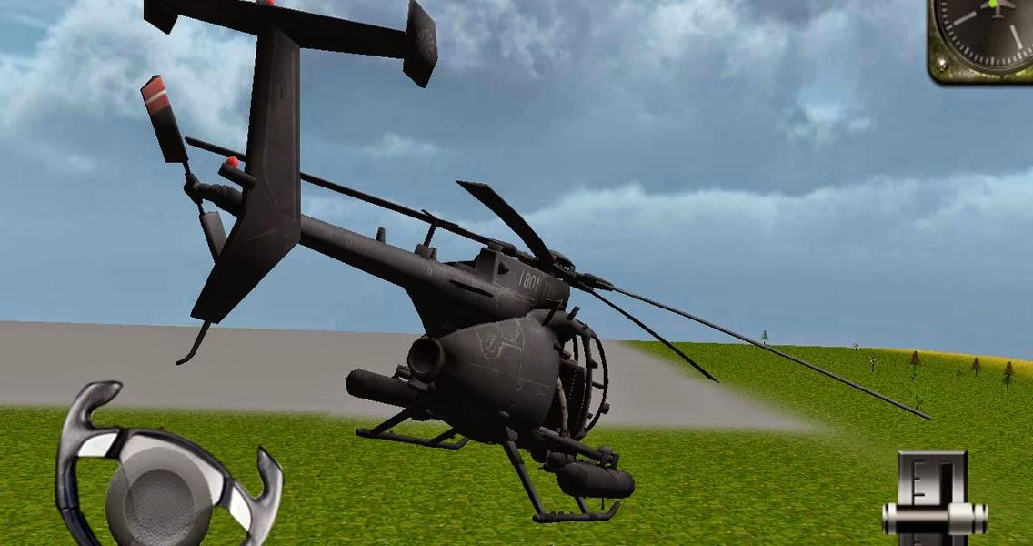 Android Helikopter 3D Uçuş Simülatörü Apk resimi 3