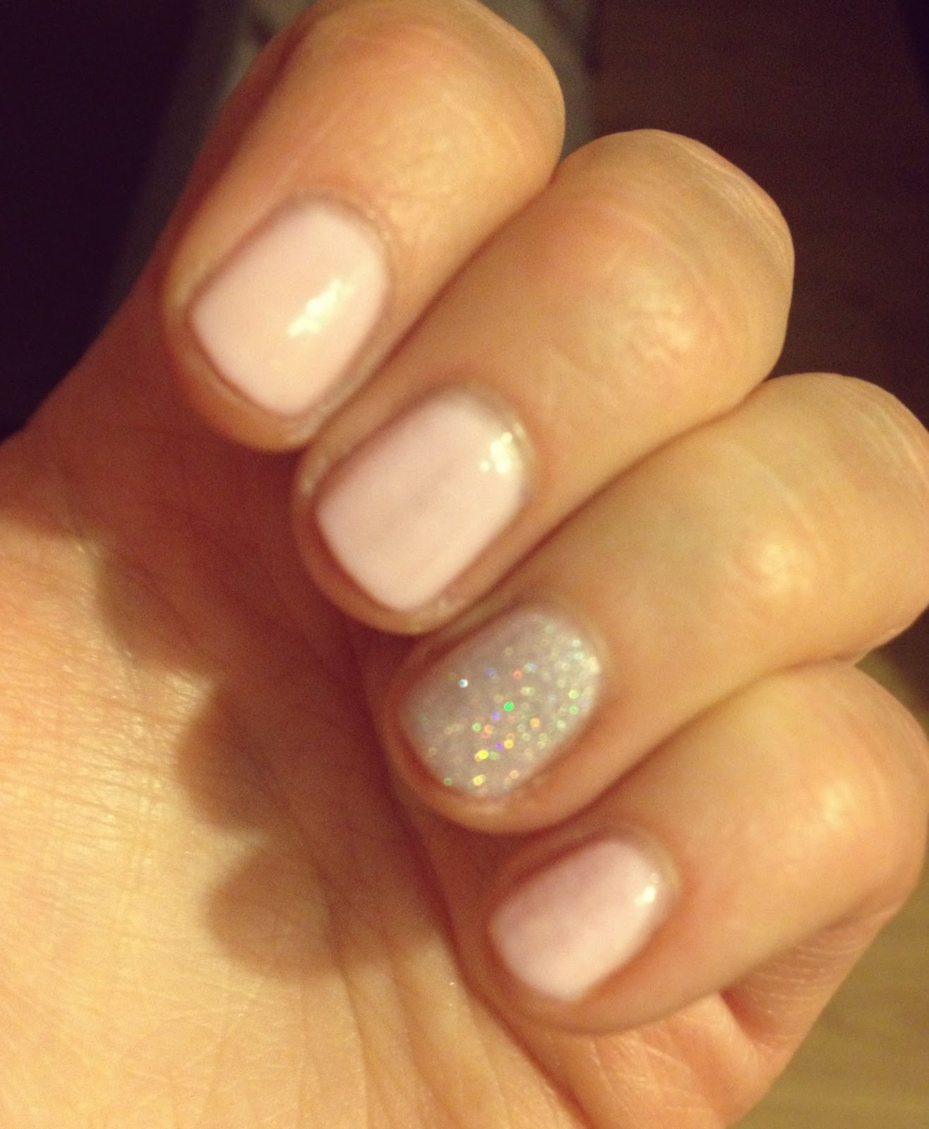 all the little things essence pastel pink nails
