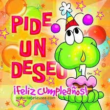 Frases Para Cumpleaños: Pide Un Deseo Feliz Cumpleaños
