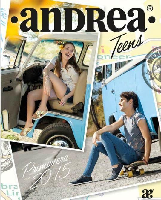 Andrea Teens Catalogo Primavera 2015