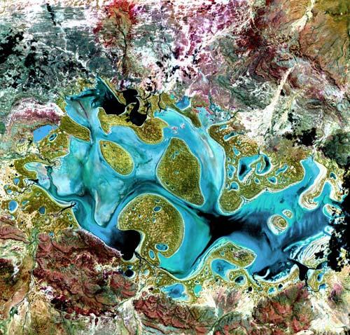 Danau Carnegie, Australia Barat