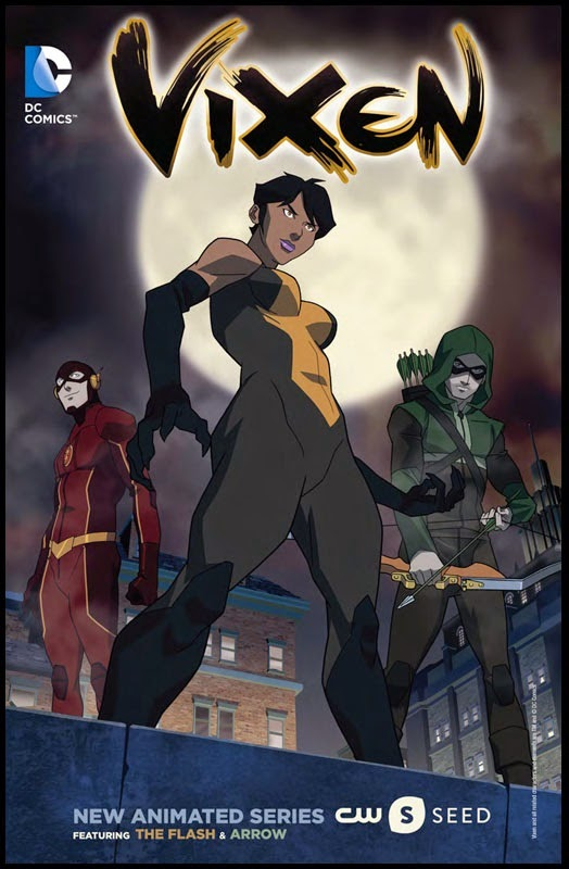 Vixen Animated Series by DC Comics x The CW