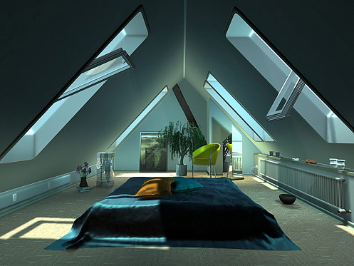 Futuristic Home Decor