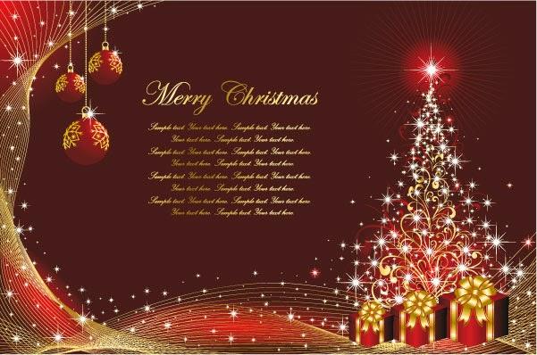 árboles de Navidad - Vector
