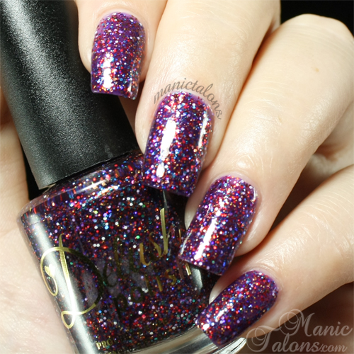 Delush Polish Freak Show Spectacle Swatch