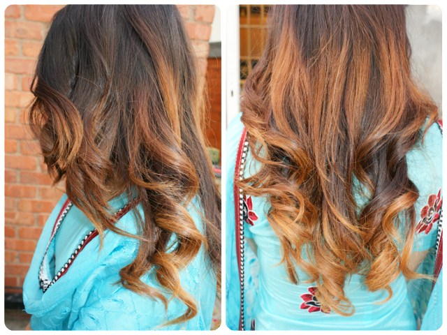 Desi Ombre hair