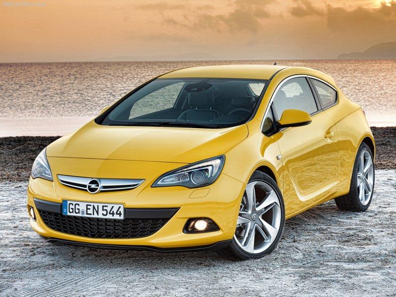 2012 new Opel Astra GTC