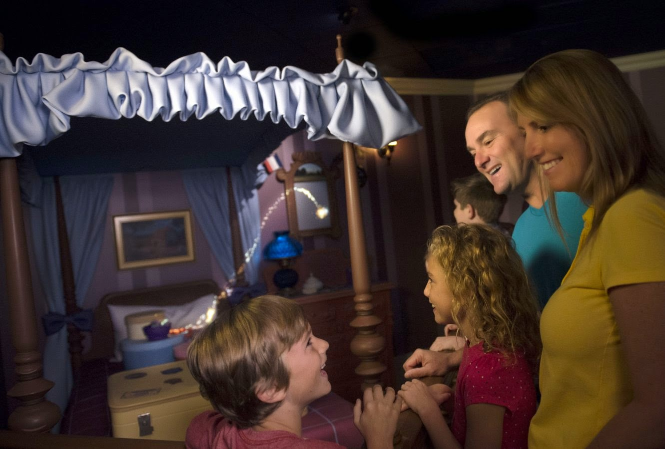 Morgan's Milieu | You Can Fly Too at Peter Pan's Flight in Walt Disney World: Get sprinkled with pixie dust!