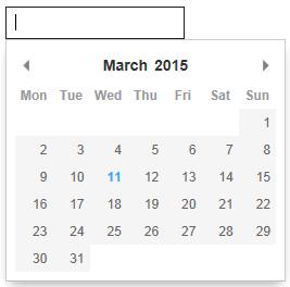 javascript calendar for asp.net