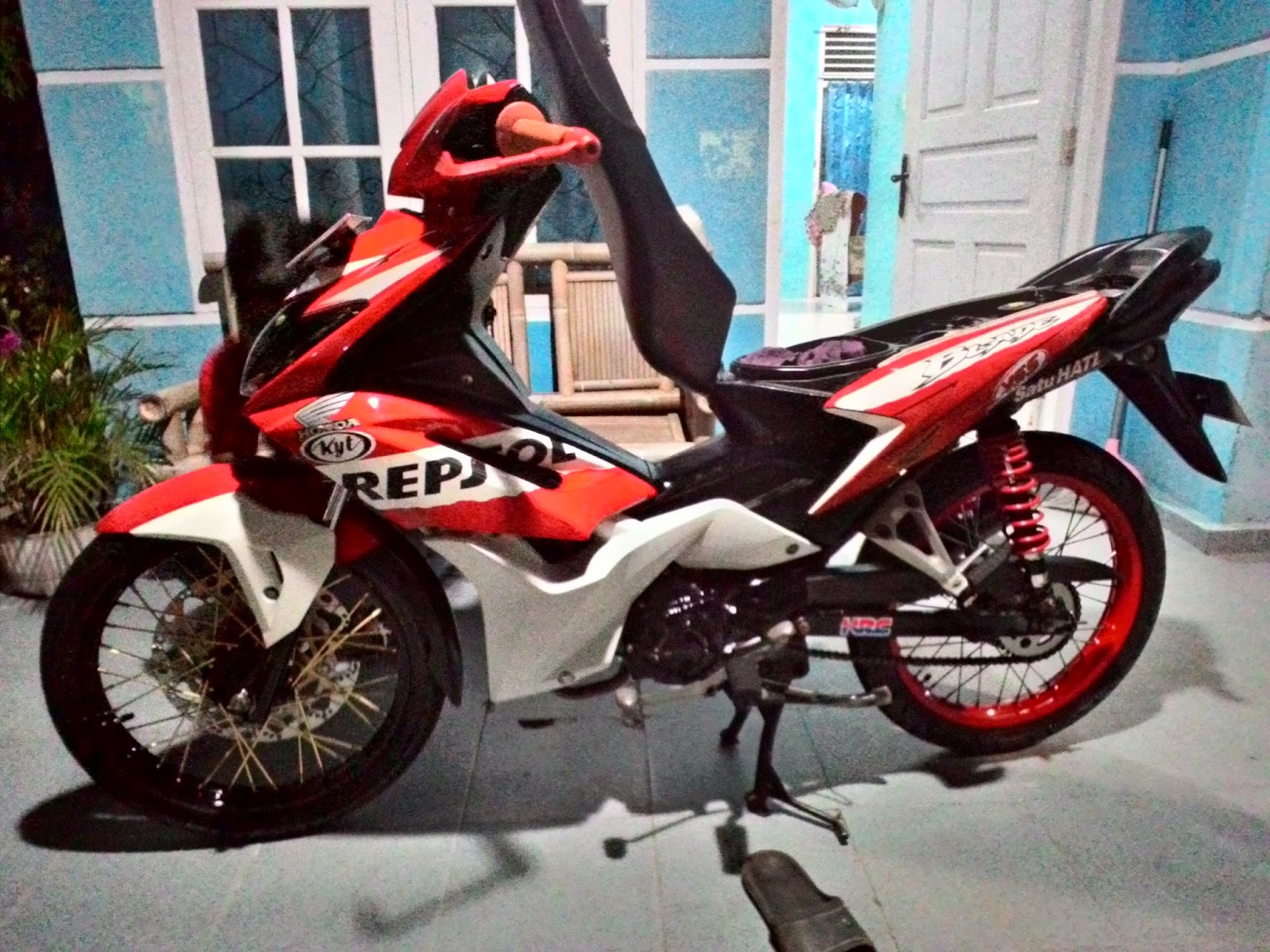 honda blade modifikasi road race | honda blade 110cc roadrace