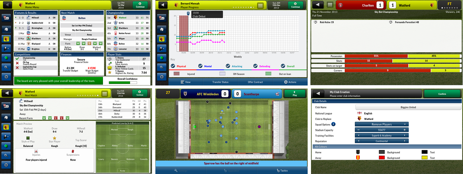 But make no mistake, Football Manager Handheld 2014 is not free. You