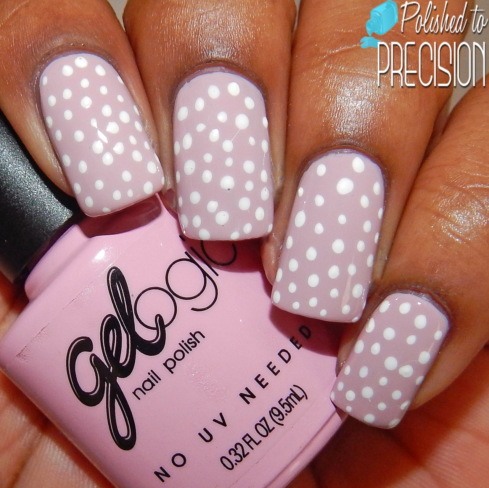 Pretty Woman Gelogic Light Pink Nail Art