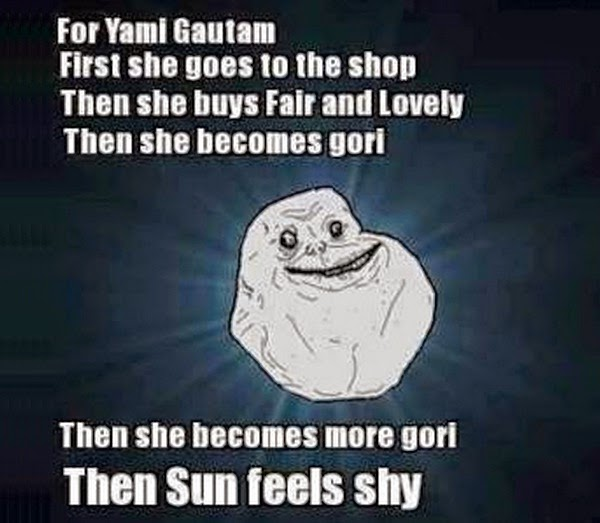 Latest Funny Yami Gautam Fairness Tweets