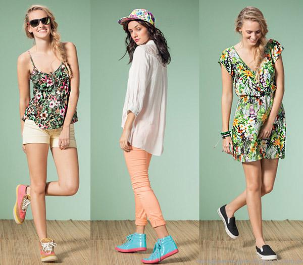 Núcleo Moda primavera verano 2015 shorts, pantalones y vestidos 2015.