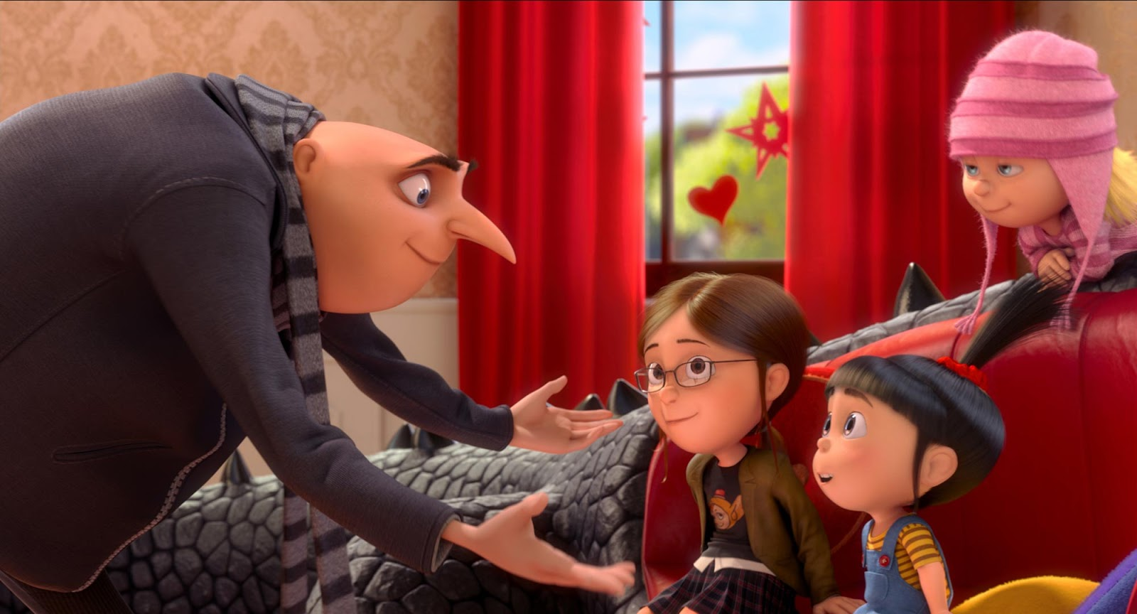 Gru and the Kids