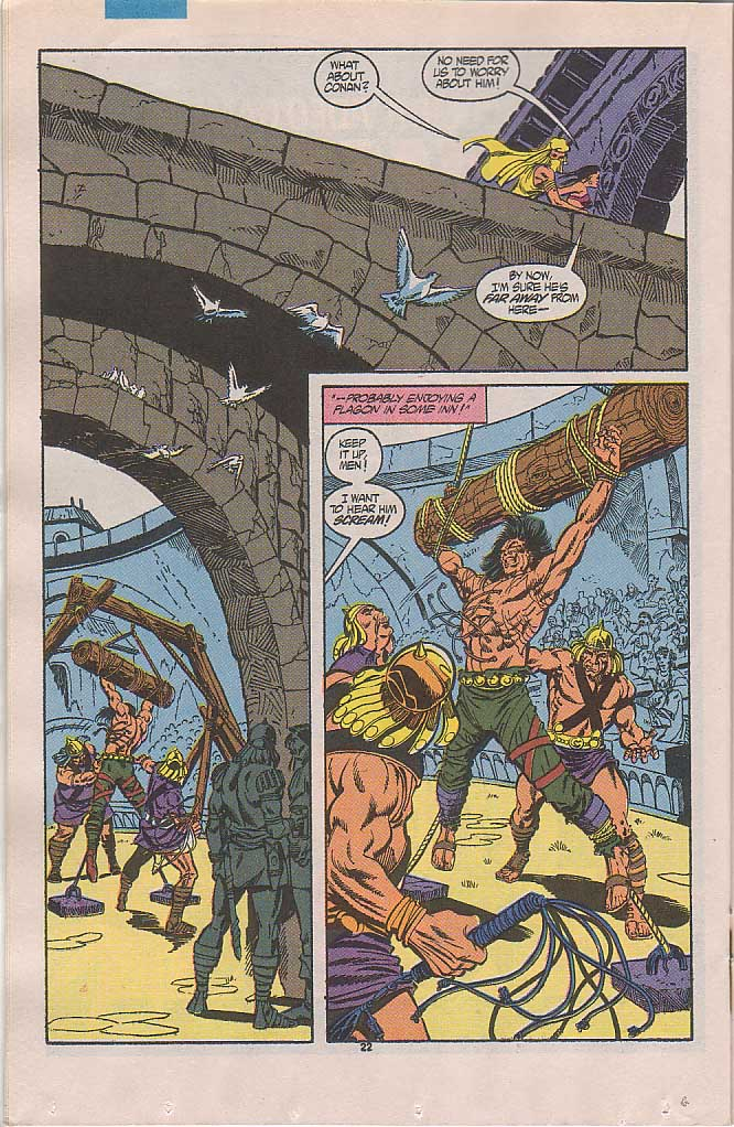 Conan the Barbarian (1970) Issue #238 #250 - English 17