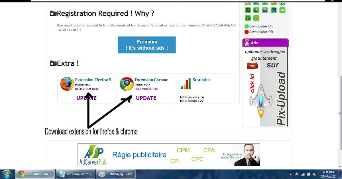 No free user slots get premium account or wait