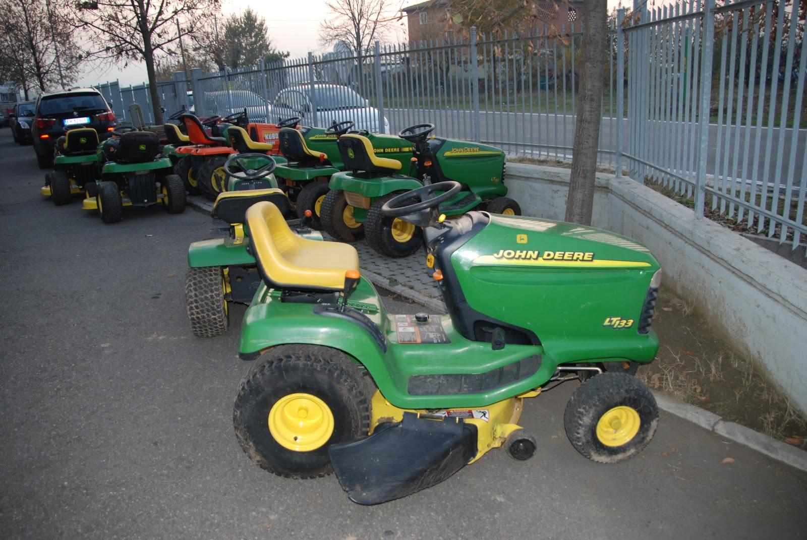 Tractor garden formigine i trattorini rasaerba usati for Cerco john deere usato