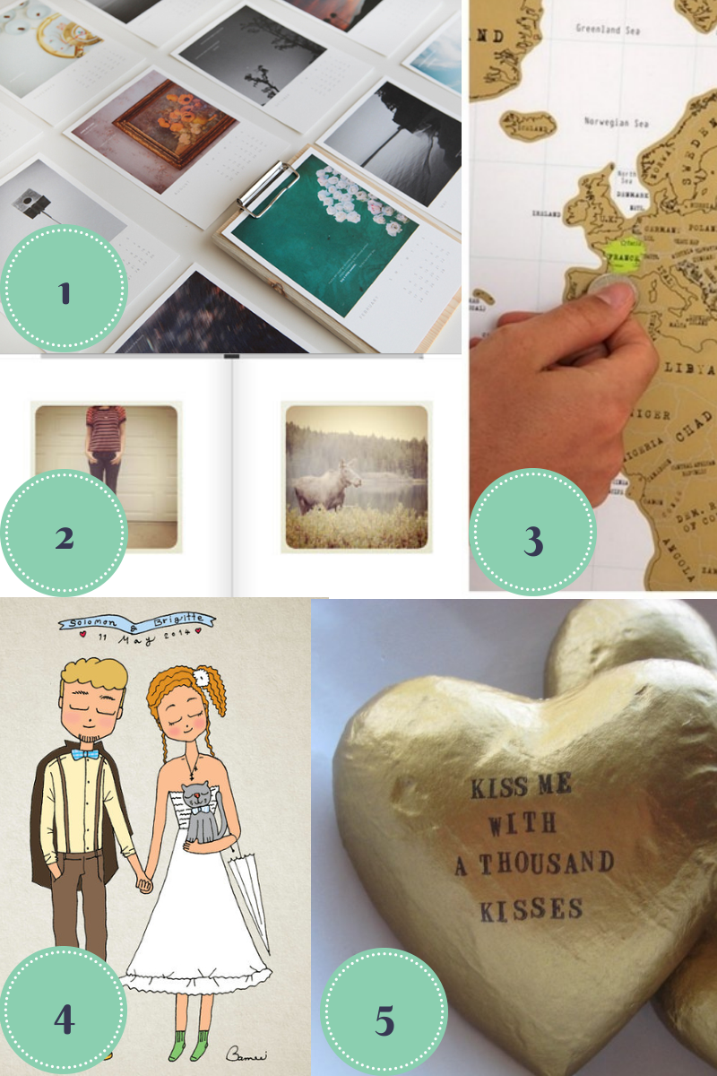 2 Year Wedding Anniversary Date Ideas : ... Sweet Events: 5 First Anniversary gift ideas you havent thought of