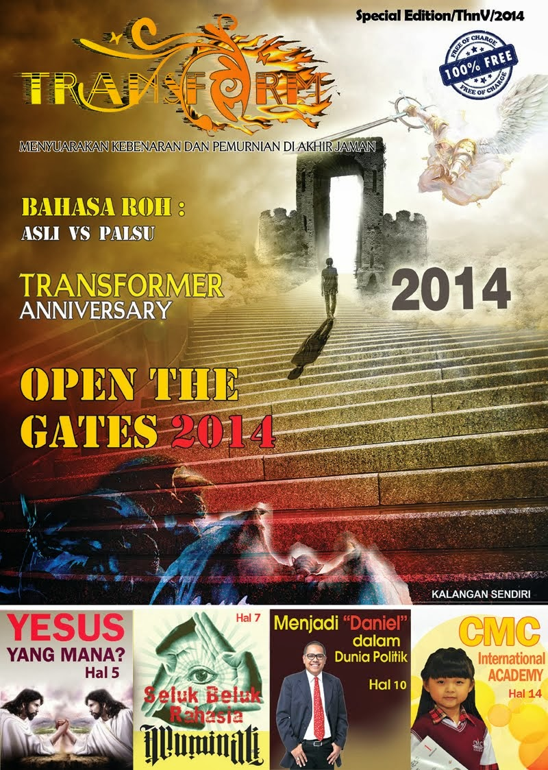 SUDAH TERBIT! TABLOID TRANSFORM FREE 2014