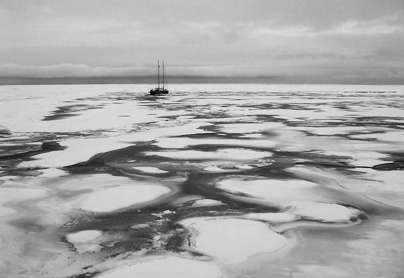 Tara drift, Arctic Ocean, transpolar ice drift, Fram, Tara jäätriiv, Põhja-Jäämeri, Arktika, Tara Arctic