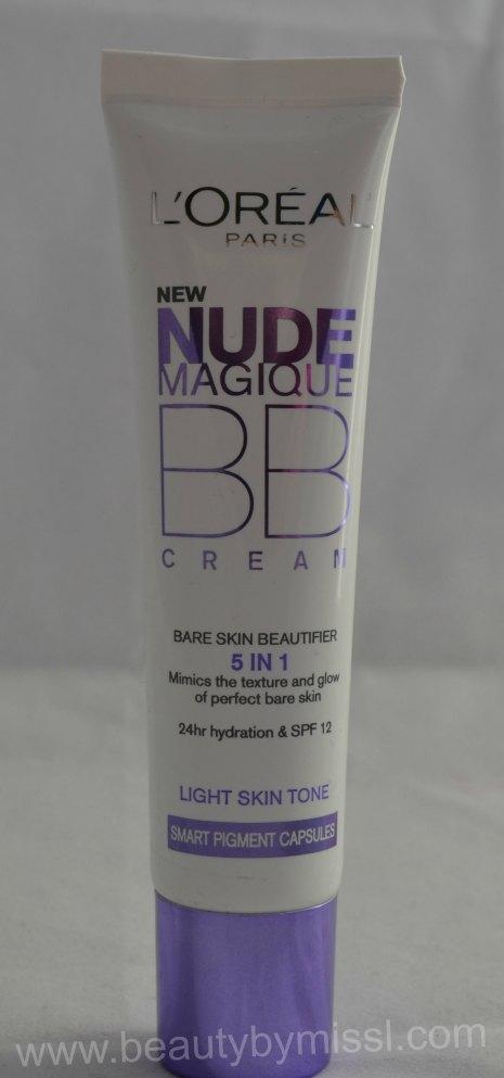LOreal Nude Magique BB Cream 4 in 1 Light 30ml