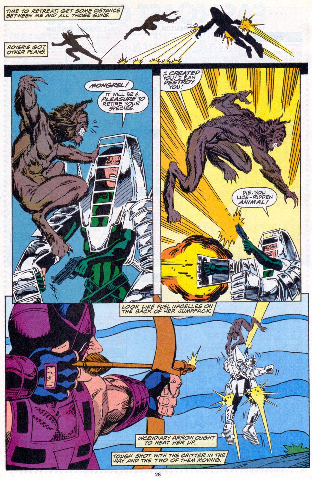 Hawkeye (1994) Issue #4 #4 - English 21