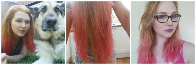 my general life bleach london pink ombre hair