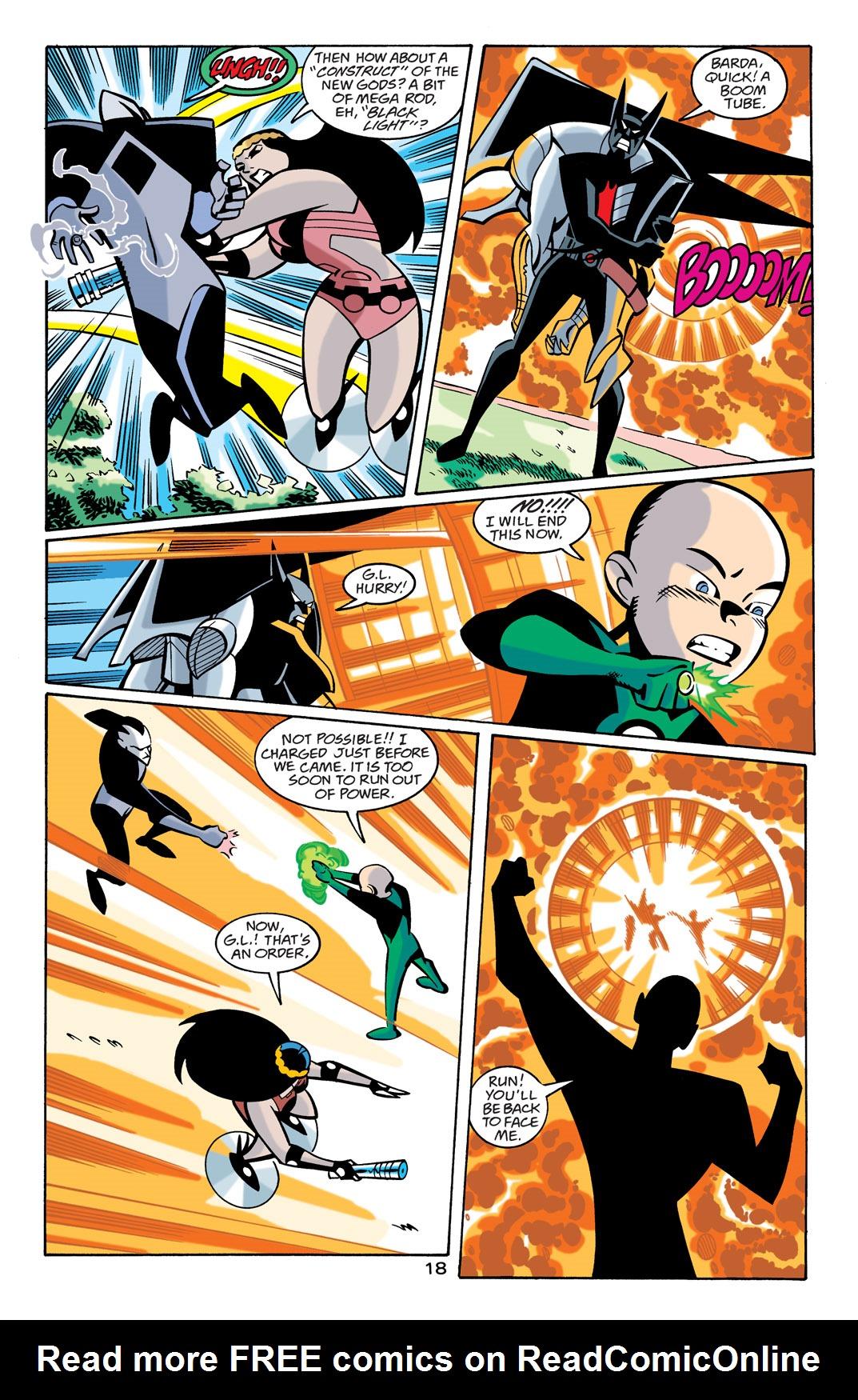 Batman Beyond [II] Issue #21 #21 - English 19
