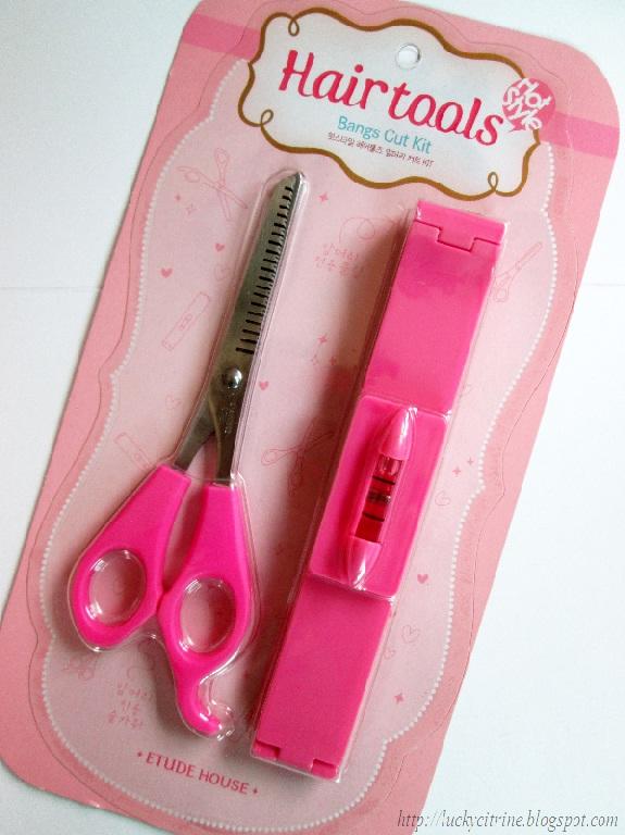 Hair Cutting Kits : Lucky Citrine: Etude House Hot Style Hair Tools Bangs Cut Kit