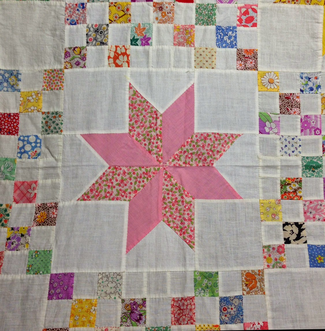 Quilts On Bastings 1930 S Vintage Le Moyne Star Quilt