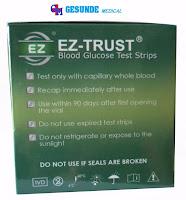 Strip Refil EZ TRUST