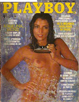 Confira as fotos da atriz Angela Muniz, capa da Playboy de março de 1982!