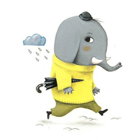 Pour la rentrée: les ateliers de l'éléphant au parapluie
