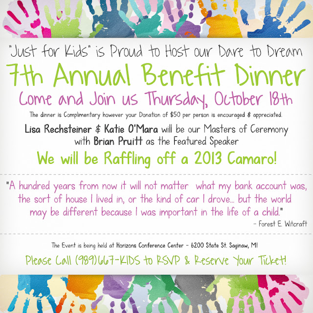 7th Annual Just for Kids Foundation Benefit Dinner