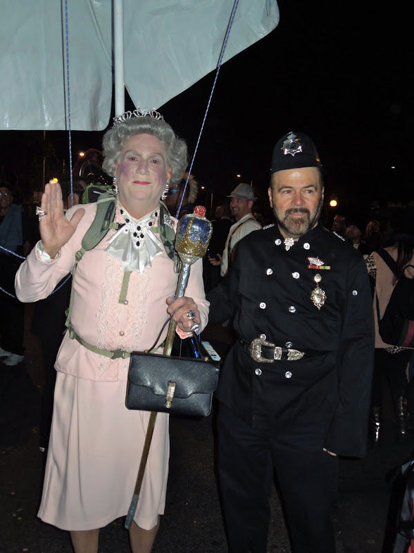 Queen Copper costumes West Hollywood Halloween Carnaval