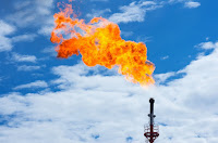 Flaring (Credit: Shutterstock) Click to Enlarge.