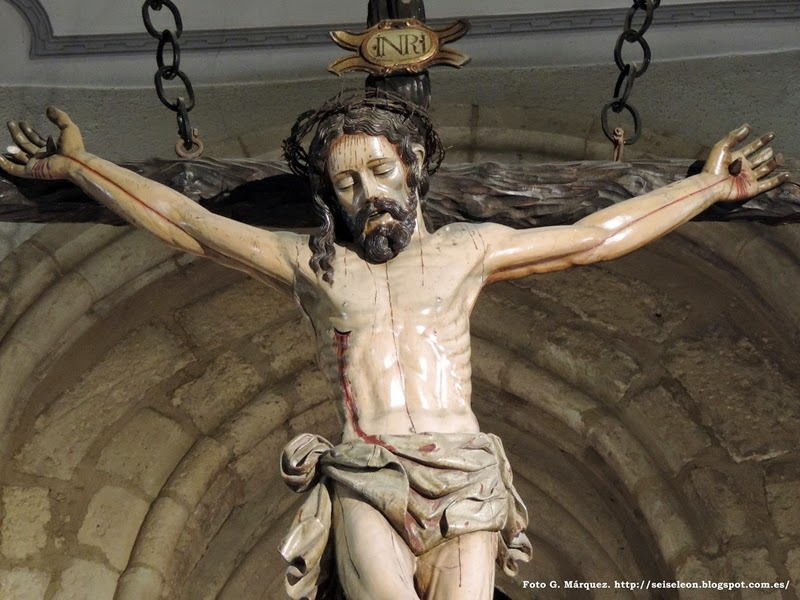 Crucificado. Cristo de San Martín. León. Foto G. Márquez