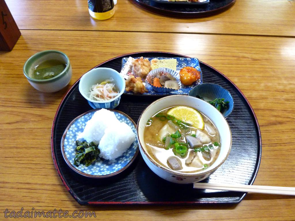 Dangojiru noodle soup from Kyushu