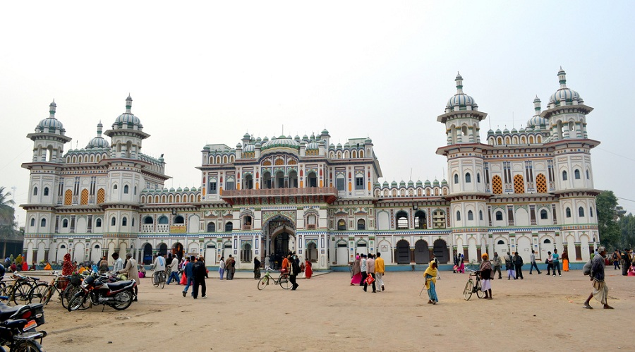 janaki temple Janaki mandir(temple) is a hindu temple it is located in janakpur in the mithila region of nepal it lies in dhanusa district the janaki temple is dedicated to the hindu goddess sita it is an example.