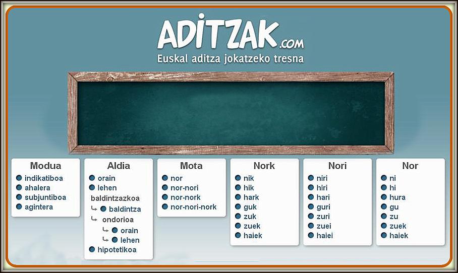 ADITZAK IKASTEKO