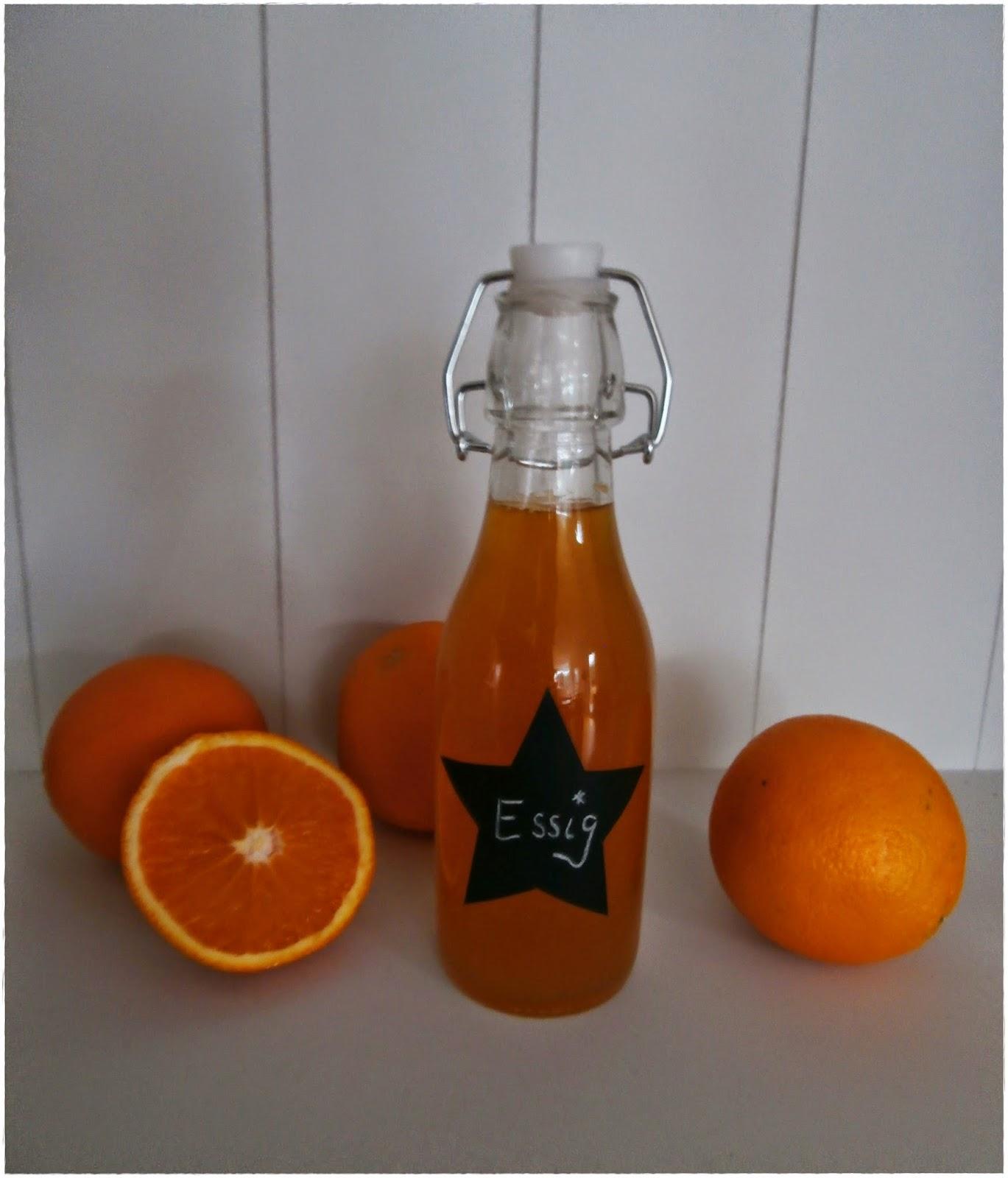 Orangenöl selbst gemacht
