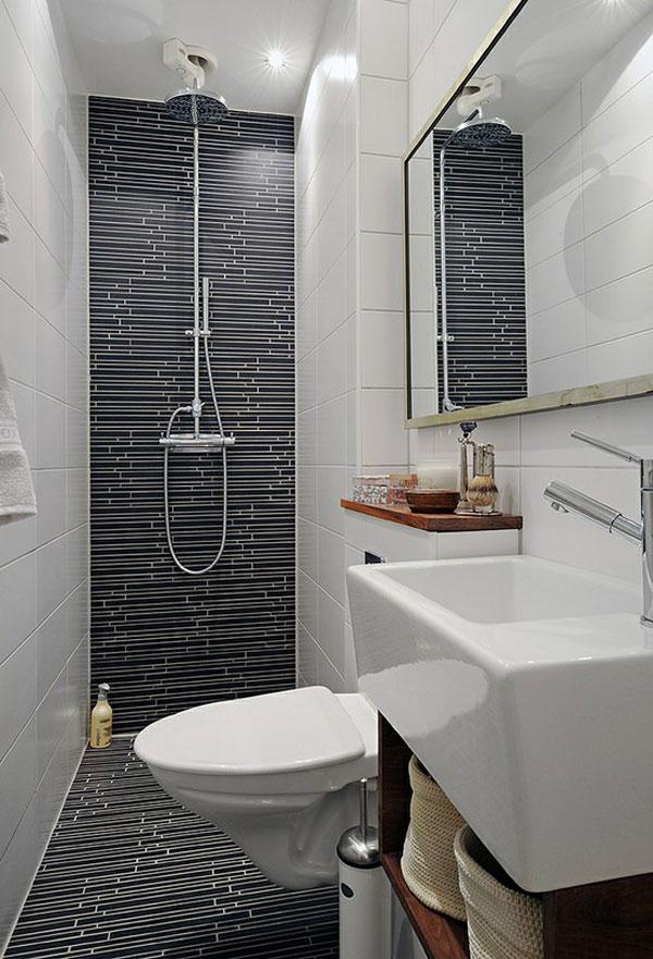 55 ideias para banheiros pequenos assuntos criativos for Bathroom designs for small area