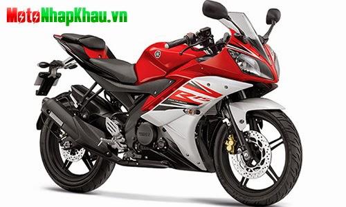 Yamaha R15 phiên bản mới.