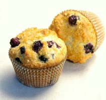 Weight Loss Recipes : Blueberry Muffins